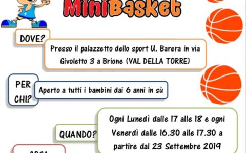 Corso Mini basket