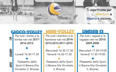 Minivolley e Under 12